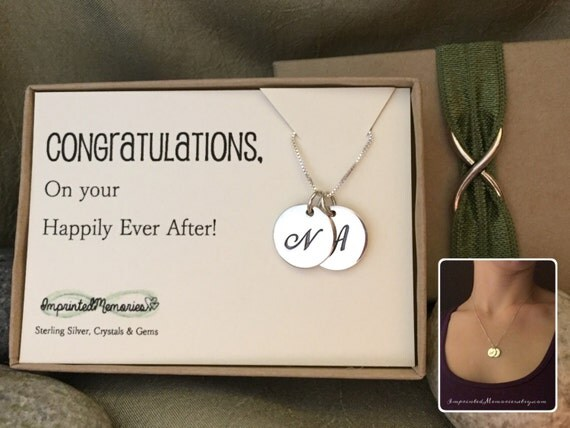 Engagement Gift For Her Bridal Shower Gift 2 Sterling