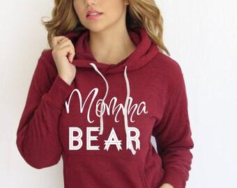 Mama bear. Momma Bear hoodie. Mama bear sweatshirt. Mama bear Tshirt. Mama bear shirt. Made by ThinkElite1.