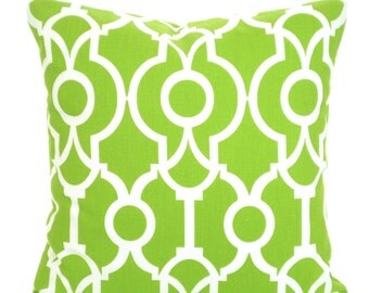 Green Pillow Covers, Decorative Pillows, Cushion Covers, Throw Pillow, Pillows for Couch, Decorative Pillow, Lyon One or More All Sizes
