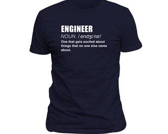 Coder Gift Funny Engineer Gift Husband Gift Boyfriend Gift Birthday Gift For Him, Nerd Gift Funny Engineer Shirt Engineer Definition #OS160