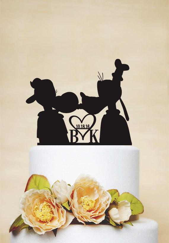 Goofy Cake topperCustom Wedding Cake TopperDisney Cake