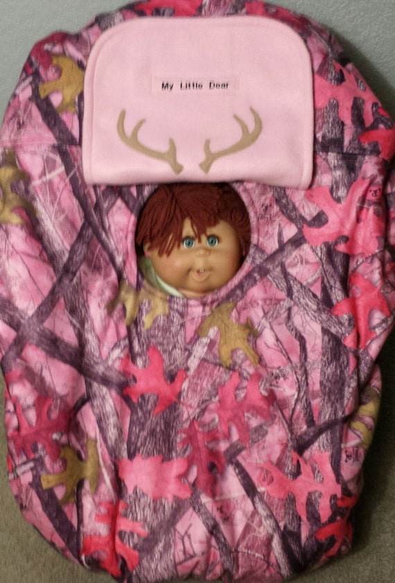 Car Seat Carrier Sassy Girl Pink Camo Baby True Timber Cozy
