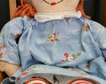 Georgene Raggedy Ann 19 inch