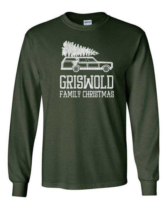 Griswolds Family funny christmas vacation movie 80s movie griswold party cool x-mas - Long sleeve shirt - apparel clothing - IIT387