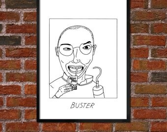 Badly Drawn Buster - Arrested Development - Poster