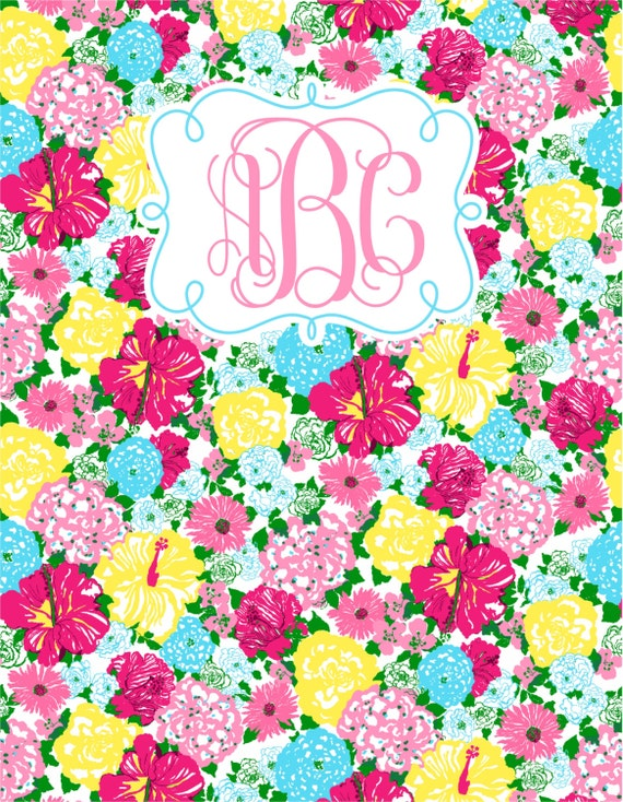 Silly for Lilly #16 Personalized Spiral Notebook
