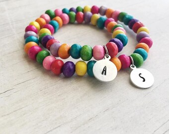 Mommy and Me Bracelet - Mother Daughter Set - Mommy and Me - Back to School Gift
