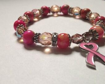 Breast Cancer Support Bracelet