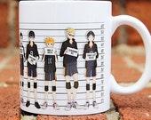Haikyuu | Karasuno | Haikyu | Volleyball Anime | Mug shot | Coffee Mug