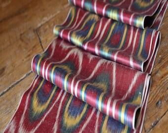 Handloomed Ikat Fabric UZ 11