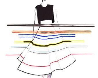 Christian Dior Spring Couture '15 Fine Art Print Set of 3