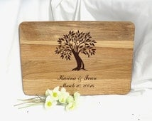 Cutting board Wedding Gift Tree Personalized Chopping board Valentines gift Custom Cutting Board Family tree Gifts for Wedding