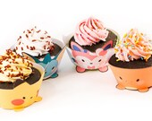 EEVEE Pokemon cupcake wrappers - set of 9