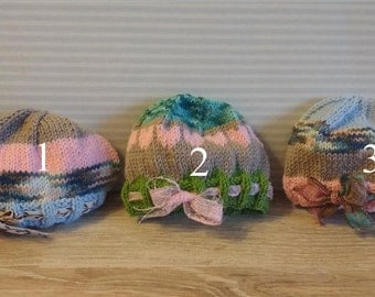 Blythe wool hats with Ribbon