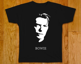 David Bowie T-Shirt, singer and composer