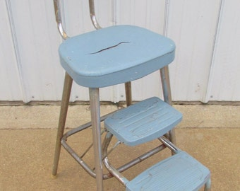 Vintage 1950's Ames Maid 2 Step, Step  Stool