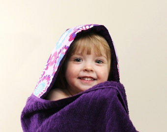 Personalized Gift Ideas - Girls Hooded Towel - Spa Gift for Girls - Towel Hoodie - Girls Birthday Gift - Hooded Towel - Gift Ideas for Girls