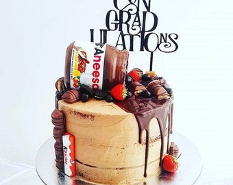 ConGRADulations Graduation Cake Topper