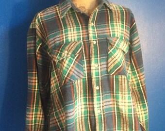 Vintage Outdoor Exchange Flannel Shirt XL