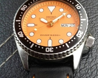 Seiko 7S26 Modded Automatic Divers Watch
