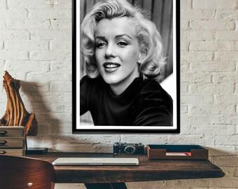 Marilyn Monroe Photo Art Print