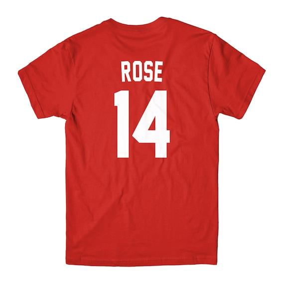 Pete rose jersey shirt t new cincinnati reds by for Custom t shirts cincinnati