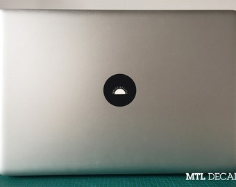 Sunrise Macbook Decal / Sunshine Macbook Pro Sticker