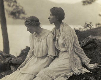 "Alice Boughton Photo ""Two Women Under A Tree"" 1906"