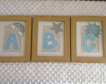 ABC Nursery Pictures - Set of 3