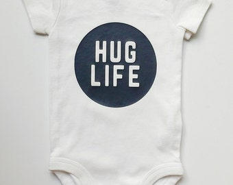 Baby One-Piece Bodysuit HUG LIFE