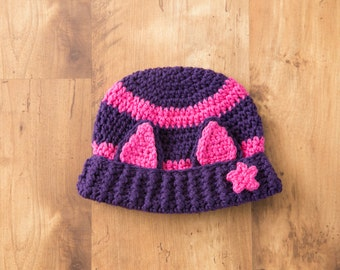 Little Charmers Hat, Inspired by Little Charmers Hat, Hazel Hat, Witch Hazel Hat, Little Charmers Crochet, Little Charmers Hazel