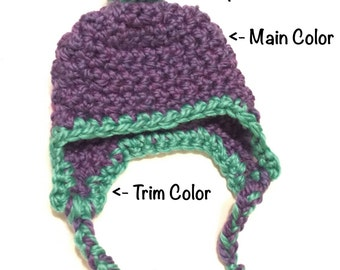 Custom Baby/Toddler Pompom Hat