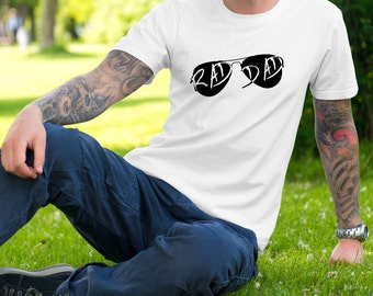 Rad Dad T-Shirt - Father's Day Shirt - Awesome Dad - Coolest Dad - Worlds Best Dad - Dad Gift - Best Dad Ever - Men's Tee
