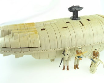 Star Wars Rebel Transport Playset With Action Figures And Original Accessories