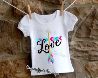Girls religious shirt, toddler religious shirt, love shirt, girls cross shirt, toddler cross shirt, cross shirt