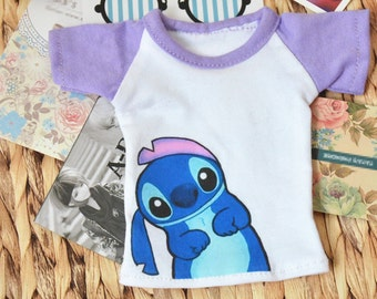 Cute Animal T shirt for 1/6 Yosd 1/4 Msd 1/3 SD16 SD17 Uncle IP EID Bjd Doll Clothes Customized