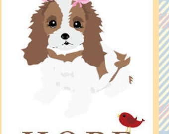 Hope Greeting Card - Featuring Bella