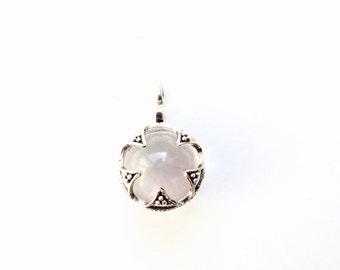 Viking Crystal Ball Pendant VIKING KRISTALL silver