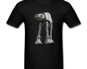 Mens T-Shirt At-At Imperial Walker Star Wars