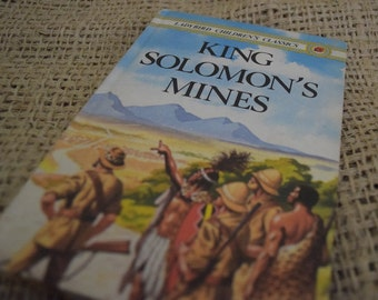 King Solomon's Mines. A Ladybird Children's Classic Book. 1st Edition