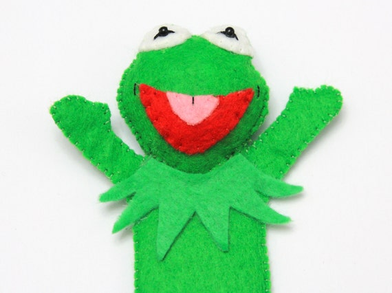Kermit the Frog from Sessame Street - Muppets Themed Bookmark