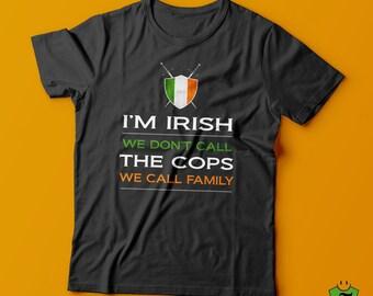 Irish T Shirt-St Patrick's Day T shirt-St Paddy's day T shirt-Irish pride shirt-Lucky Irish Tshirt