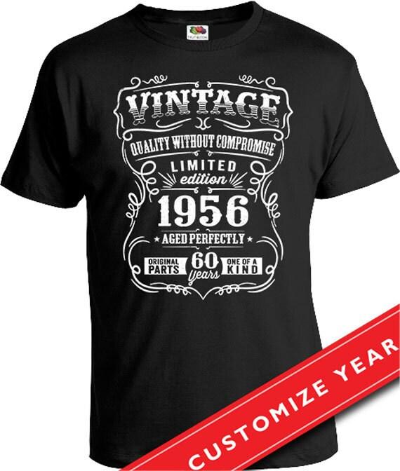 60th Birthday Gift For Man 60th Birthday T Shirt Born In 1956