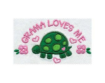 GRAMA LOVES ME Embroidery Design - Instant Digital Download