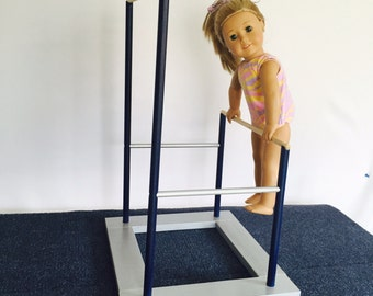 American Girl Doll Gymnastics Uneven Bars (Eighteen Inch Doll Uneven Bars)