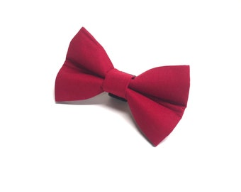 Red Dog Bow Tie