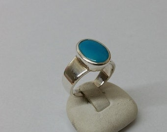 Ring Silver 925 Silver ring turquoise vintage SR589