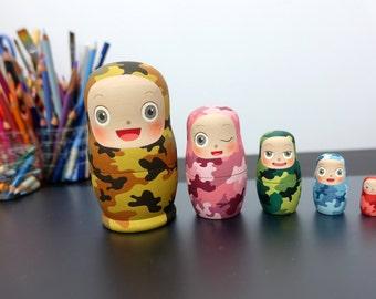 Nesting Dolls <CAMOUFLAGE>