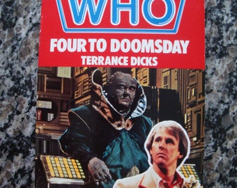 Doctor Who - Four to Doomsday- Target Paperback Book