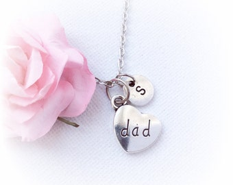 Dad Necklace, New Dad necklace, Dad Jewelry, fathers day gift ,Dad gift,Personalised jewelry, , handmade necklace, SPMCINDA1, christmas gift